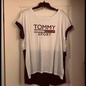 Tommy Hilfiger sports athletics shirt
